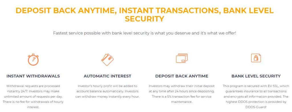 Bitxcoins deposit claims