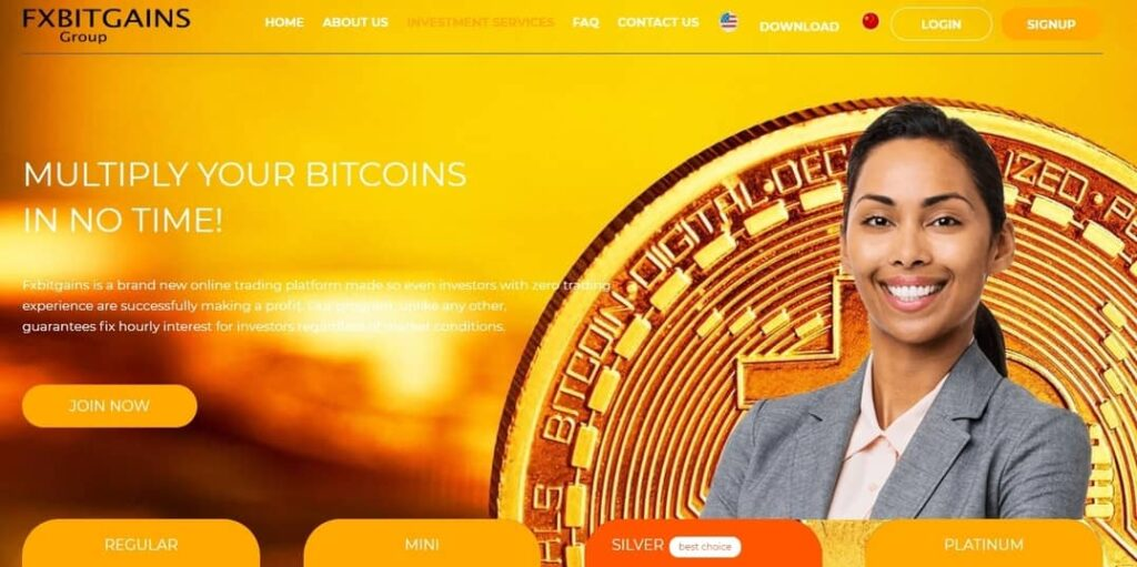Fxbitgains homepage