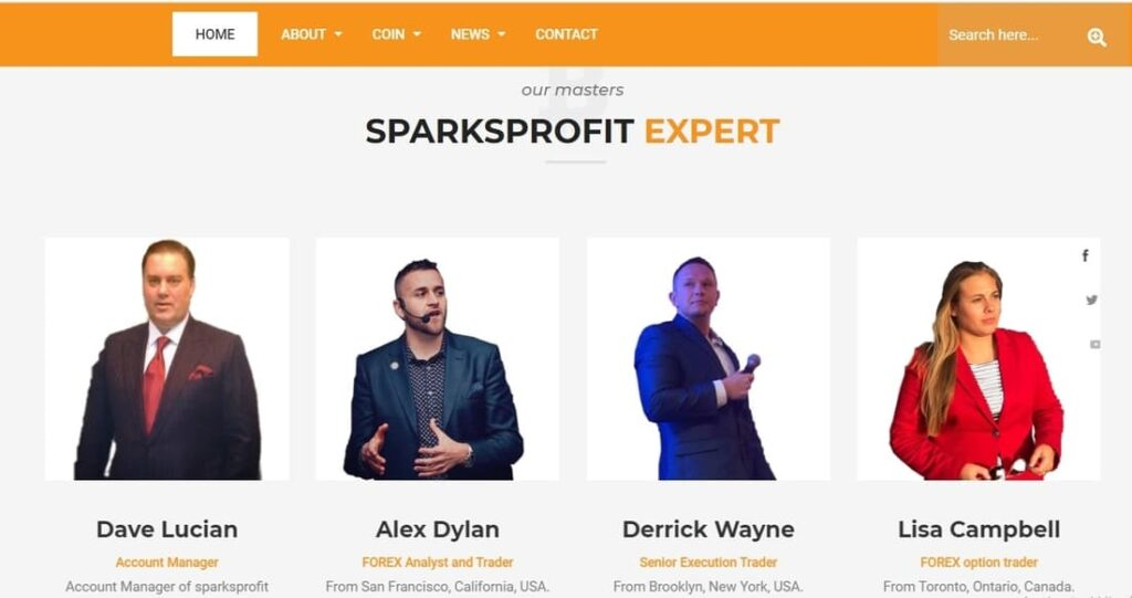 Sparksprofit Review scam
