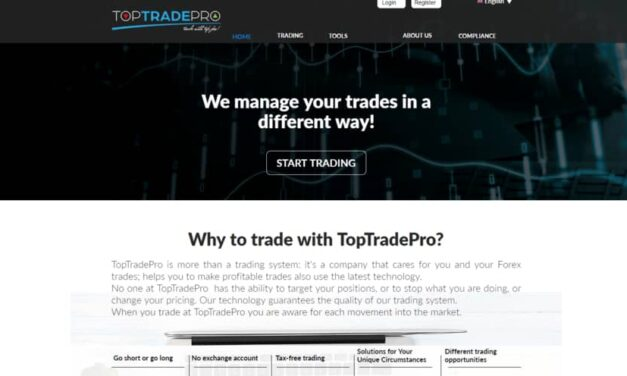 Toptradepro Review: Scam Update