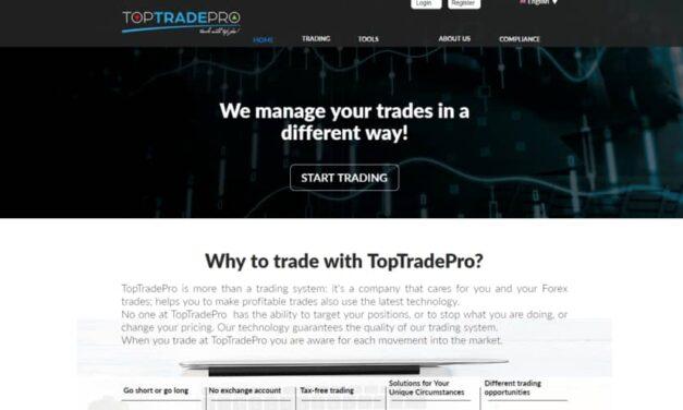 Toptradepro Review: Scam Update