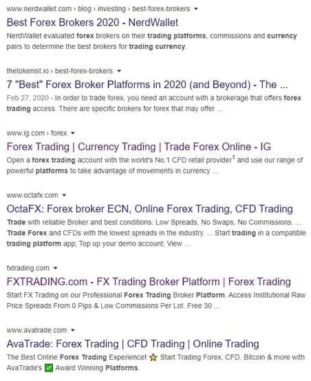 Legitimate Forex Companies