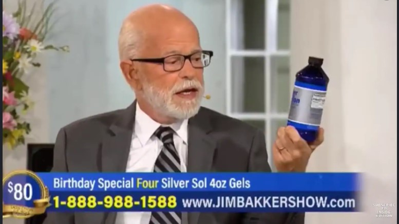 Jim Bakker fake coronavirus cure