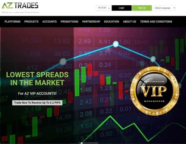 AZ Trades Bitcoin scam