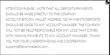 Deposit terms
