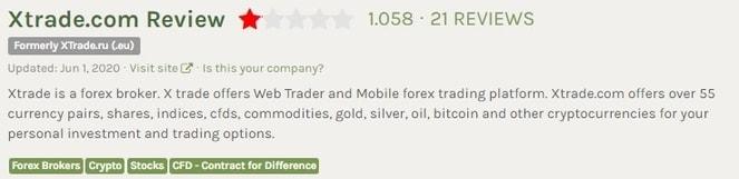 FPA Review of Xtrade.com