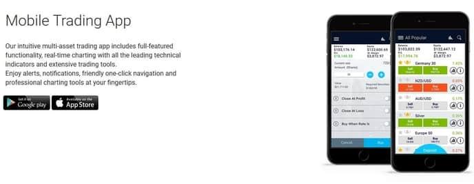 Xtrade mobile app