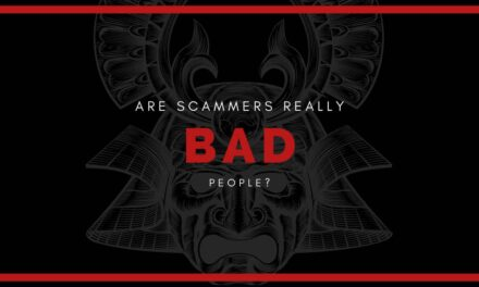 Are scammers bad people?
