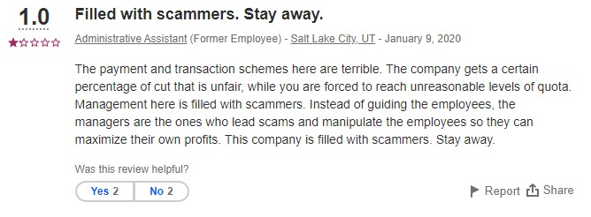 Employee testimonial to the Maverick Trading scam